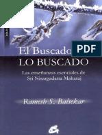 El Buscador Es Lo Buscado - Ramesh Balsekar
