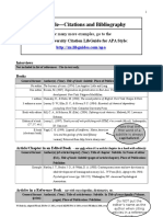 APA Style Guide Revised 2010