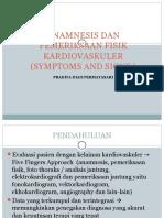 Anamnesis Dan Pemeriksaan Fisik Kardiovaskuler