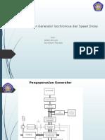Pengoperasian Generator Isochronous Dan Speed Droop