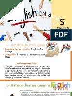 Proyecto Administracion English on Fridays