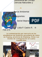 Charla de Ambiental Laboratorio