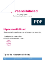 Hipersensibilidad Inmediata Tipo I