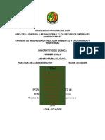 Materiales, normas de laboratorio