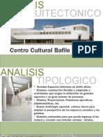 Analisis Arquitectonico - CENTRO CULTURAL
