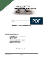 Exemple de Rapport