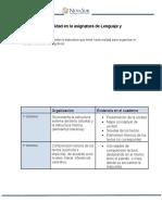 Orientaciones Estructura de La Unidad y Prueba de Lenguaje