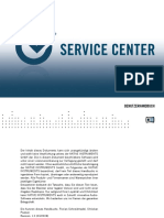 Service Center Manual German