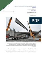 Construcción de puentes con elementos prefabricados de concreto