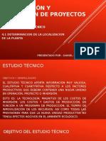 Formulación y Evaluación de Proyectos UNIDAD 4