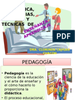 didactica aprendizaje