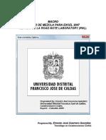 Manual Macro Diseño de Mezcla