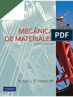 Hibbeler - Mecánica de materiales 8a edición.pdf