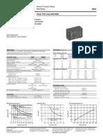 Datasheet Relay ENG, DS, OMI, OMIH Series