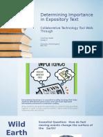 determining importance-edu 742