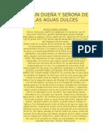 OSHUN DUEÑA Y SEÑORA DE LAS AGUAS DULCES .docx