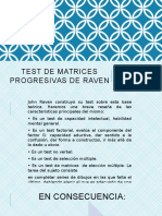 Test de Matrices Progresivas de Raven Expo