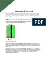 Cek Kursi Penumpang Kereta API