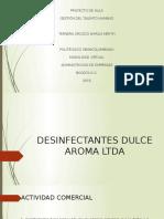 Desinfectantes Dulce Aroma Ltda Julieth
