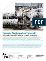Fracking Drinking Water Fs