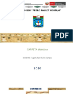 Carpeta Pedagogica 2016 secundaria