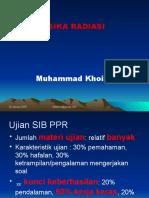 Fisika Radiasi PPR Mhs 2015