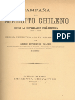 Campaña Del Ejército Chileno Contra La Confederación Perú-boliviana en 1837. (1896)