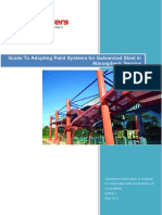 Guide to Adopting Paint Systems for Galvanized Steel - Edition 2 May 201...