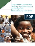 Guia Sobre Salud Mental y Apoyo Psicosocial en Emergencias Humanitarias y Catastrofes