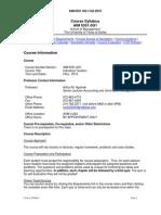 UT Dallas Syllabus for aim6351.0g1.10f taught by Arthur Agulnek (axa022000)