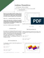 Función Seno - C. Paramétricas
