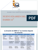 NUEVO EXAMEN DEL ICFES SABER 11°