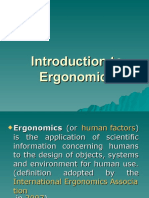 Introduction to Ergonomics s2