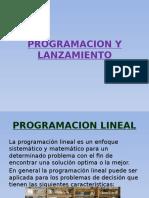 Programacion y Lanzamiento
