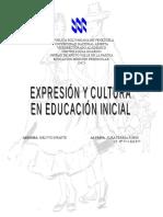 Expresion y Cultura en Educacion Inicial Teresa