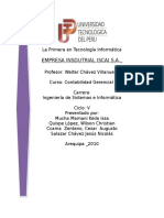 Constitucion Empresa Industrial