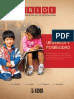 PRIDI. Urgencia y Posibilidad