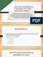 Sustitucion Aromatica Nucleofilica y Por Radicale Libres