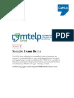 Mtelp Samples l2