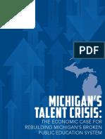 Michigan Achieves! 2016 Michigan State of Education Report