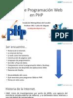 Curso de Programación Web en PHP
