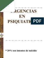 Urgencias en Psiquiatría