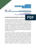 Adivinanza Para Mantener La Atencion El Interes en Aula-monografia-neurociencias-Isabel.membrillo.venegas