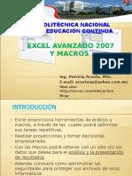excelavanzadoymacros2009-090906001309-phpapp02