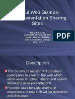 Slide and Presentation Sharing Sites