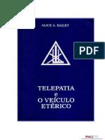 Telepatia e Veículo Etérico