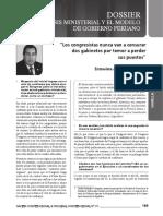 Art. Quiroga Crisis ministerial
