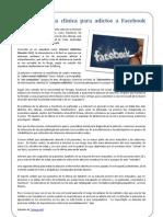 Abren en Italia clínica para adictos a Facebook