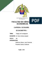 Trabajo de Investigación Inversión Liquidez en el Perú