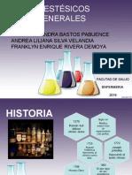 Farmacologia Anestesicos